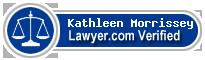 Kathleen Morrissey  Lawyer Badge