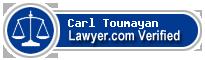 Carl Toumayan  Lawyer Badge