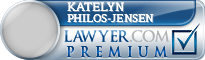 Katelyn Marie Philos-Jensen  Lawyer Badge