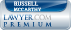 Russell McCarthy  Lawyer Badge