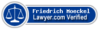 Friedrich Moeckel  Lawyer Badge