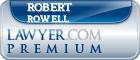 Robert Rowell  Lawyer Badge