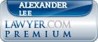 Alexander Putnam Lee  Lawyer Badge