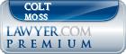 Colt Moss  Lawyer Badge