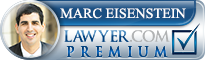 Marc Eisenstein  Lawyer Badge