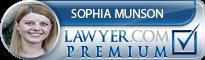 Sophia Munson  Lawyer Badge