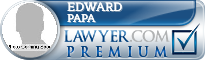 Edward Papa  Lawyer Badge