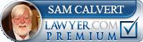 Samuel V. Calvert  Lawyer Badge