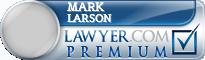 Mark V Larson  Lawyer Badge