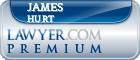 James R. Hurt  Lawyer Badge