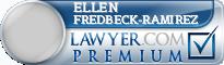 Ellen L Fredbeck-Ramirez  Lawyer Badge