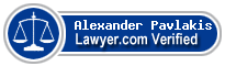 Alexander Nicholas Pavlakis  Lawyer Badge