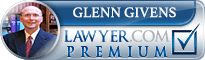 Glenn Fishburne Givens  Lawyer Badge