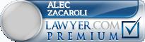 Alec Chatham Zacaroli  Lawyer Badge