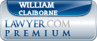 William Bryant Claiborne  Lawyer Badge