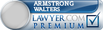 Armstrong Walters  Lawyer Badge
