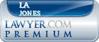 La Jeana Faye Jones  Lawyer Badge