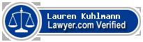 Lauren A. Kuhlmann  Lawyer Badge