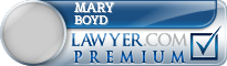 Mary Christina Boyd  Lawyer Badge