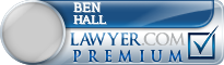 Ben C. Hall  Lawyer Badge