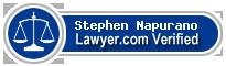 Stephen Napurano  Lawyer Badge