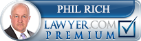 Phil Rich  Lawyer Badge
