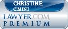 Christine N. Cimini  Lawyer Badge