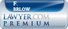 F. Rendol Brlow  Lawyer Badge