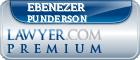 Ebenezer Punderson  Lawyer Badge