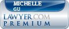 Michelle R. Gu  Lawyer Badge