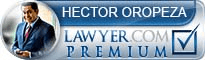 Hector Oropeza  Lawyer Badge