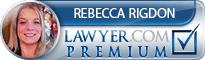 Rebecca Rigdon  Lawyer Badge