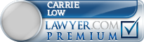 Carrie Anne Mcarthur Low  Lawyer Badge