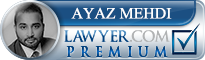 Ayaz Mehdi  Lawyer Badge