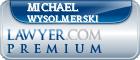Michael Nathaniel Wysolmerski  Lawyer Badge
