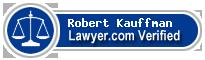 Robert Joseph Kauffman  Lawyer Badge