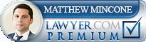 Matthew J. Mincone  Lawyer Badge