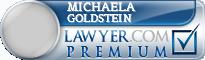 Michaela R Goldstein  Lawyer Badge