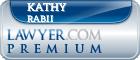 Kathy Rabii  Lawyer Badge