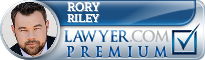 Rory Brian Riley  Lawyer Badge