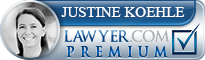 Justine Theresa Koehle  Lawyer Badge