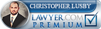 Christopher Ryan Lusby  Lawyer Badge