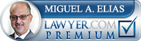 Miguel A. Elias  Lawyer Badge
