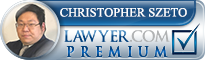 Christopher Szeto  Lawyer Badge