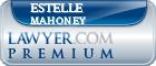 Estelle E Mahoney  Lawyer Badge