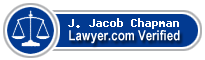 J. Jacob Chapman  Lawyer Badge