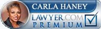 Carla T. Haney  Lawyer Badge