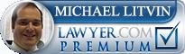 Michael Litvin  Lawyer Badge