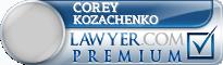 Corey Kozachenko  Lawyer Badge