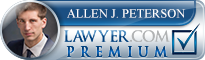 Allen J. Peterson  Lawyer Badge